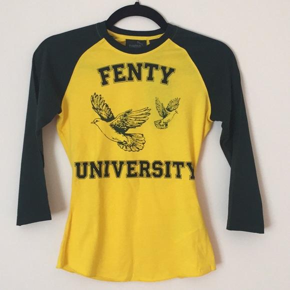 new style f3376 ff0a0 Fenty Puma by Rihanna crewneck tee NWT